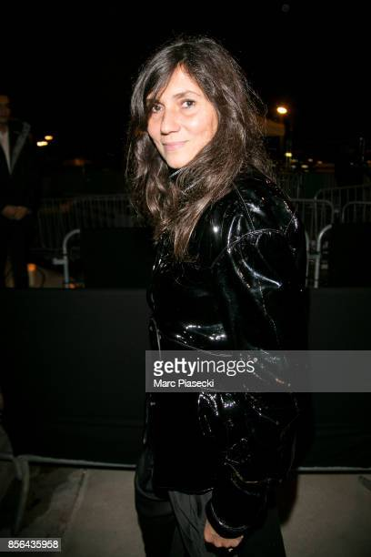 Emmanuelle Alt attends Vogue Party as part of the Paris Fashion Week Womenswear Spring/Summer 2018 at on October 1 2017 in Paris France