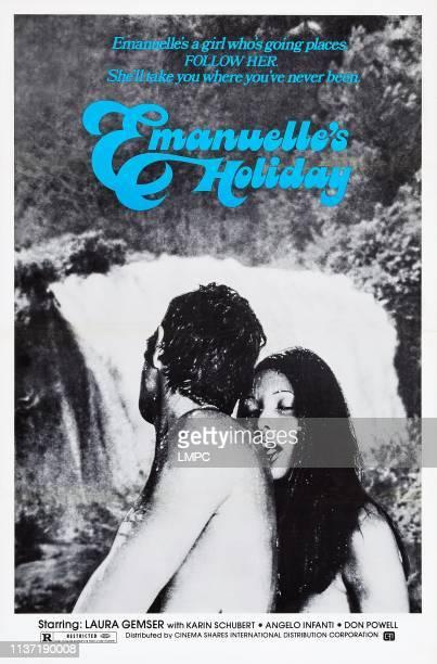 Emmanuelle Around The World poster US poster art Laura Gemser 1977