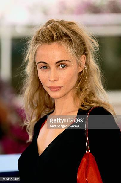 Emmanuelle Beart at the 56th International Film Festival in Cannes