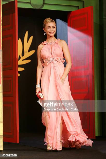 Emmanuelle Beart at the closing ceremony of the 59th Cannes Film Festival