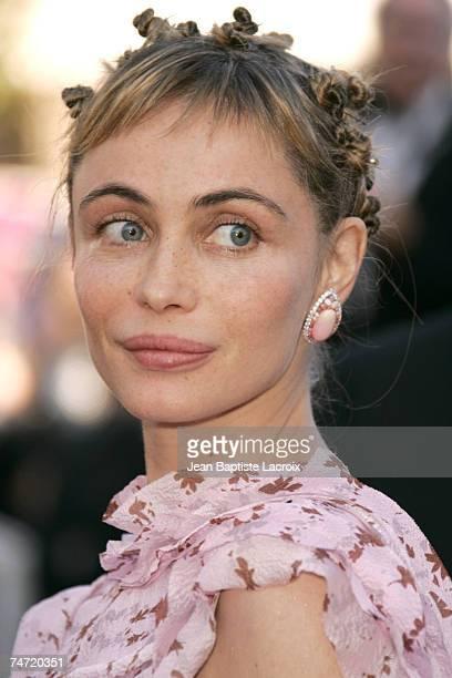 Emmanuelle Beart at the Le Palais de Festival in Cannes France