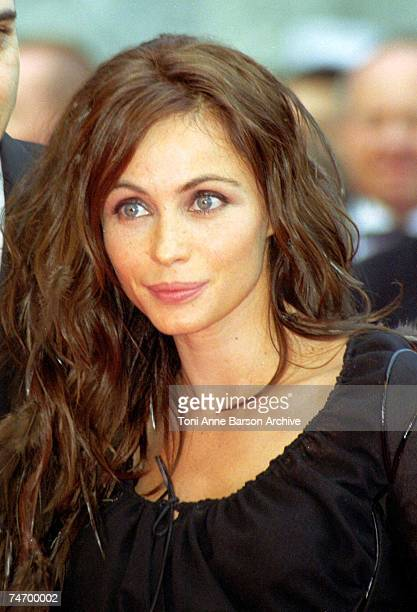 Emmanuelle Beart at the Palais des Festivals in Cannes France