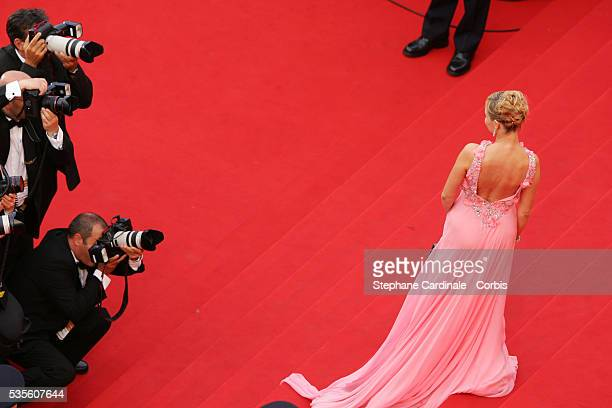 Emmanuelle Beart at the premiere of 'Transylvania' during the 59th Cannes Film Festival