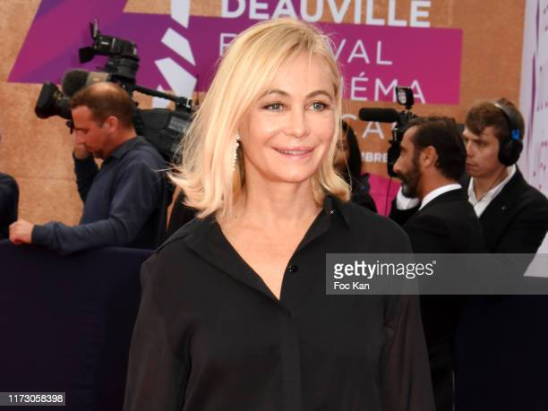 Emmanuelle Beart attends the Tribute to the 25 Years Of Competition during the 45th Deauville American Film Festival on September 07 2019 in...