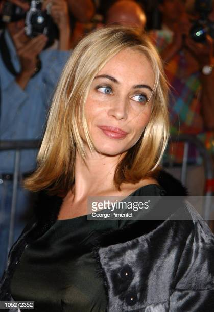 Emmanuelle Beart during 2003 Toronto International Film Festival Nathaline Premiere at Intercontinenal Hotel in Toronto Ontario Canada