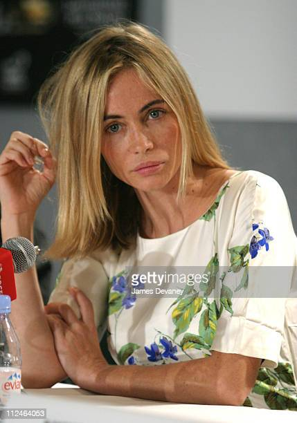 Emmanuelle Beart during 2003 Toronto International Film Festival Nathaline Press Conference at Delta Chelsea Hotel in Toronto Ontario Canada
