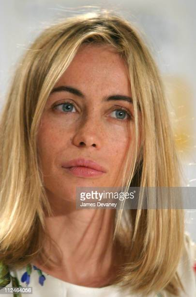 Emmanuelle Beart during 2003 Toronto International Film Festival 'Nathaline' Press Conference at Delta Chelsea Hotel in Toronto Ontario Canada