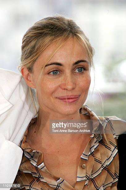 Emmanuelle Beart during 2004 Cannes Film Festival Cannes Jury Photocall at Palais Du Festival in Cannes France