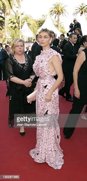 Emmanuelle Beart during 2005 Cannes Film Festival Peindre Ou Faire L'Amour Premiere at Le Palais de Festival in Cannes France