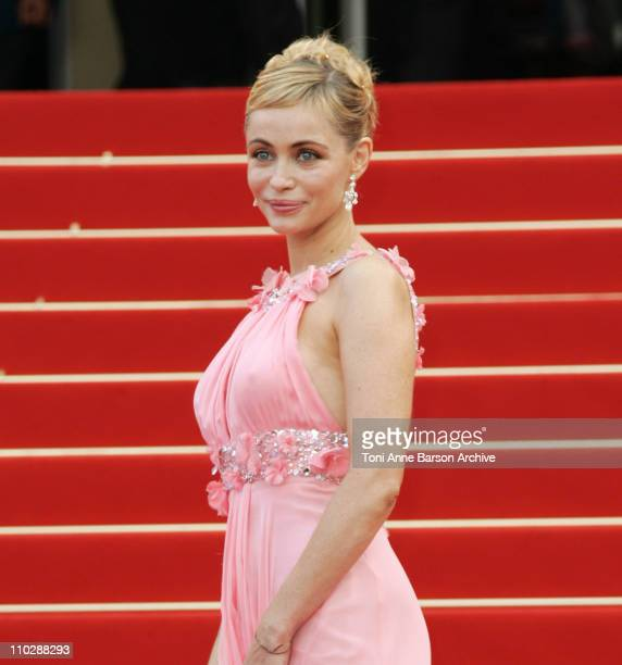 Emmanuelle Beart during 2006 Cannes Film Festival Palme D'Or Arrivals at Palais des Festivals in Cannes France