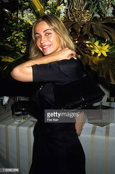 Emmanuelle Beart during The Best of 2004 28th Edition Awards Ceremony at Pavillon Gabriel in Paris France