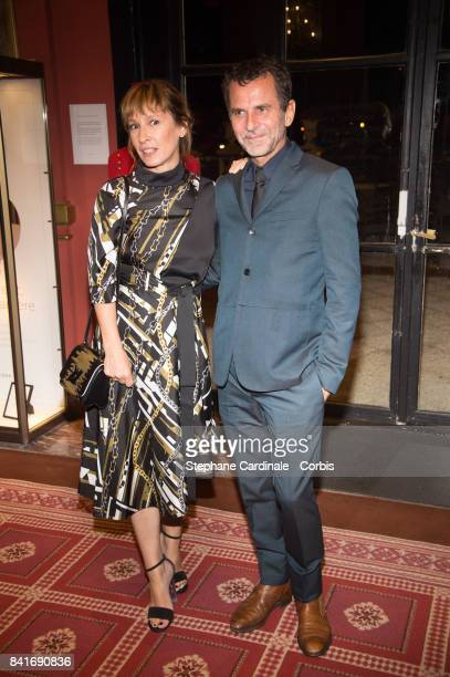 Emmanuelle Bercot and Eric Lartigau attend the Opening Dinner during the 43rd Deauville American Film Festival on September 1 2017 in Deauville France