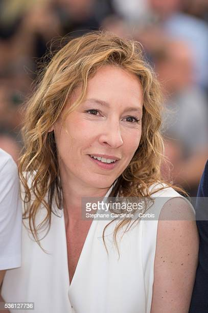 """Emmanuelle Bercot attends the """"Mon Roi"""" Photocall during the 68th Cannes Film Festival"""