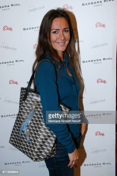 Emmanuelle Boidron attends Reem Kherici signs her book 'Diva' at the Barbara Rihl Boutique on November 8 2017 in Paris France