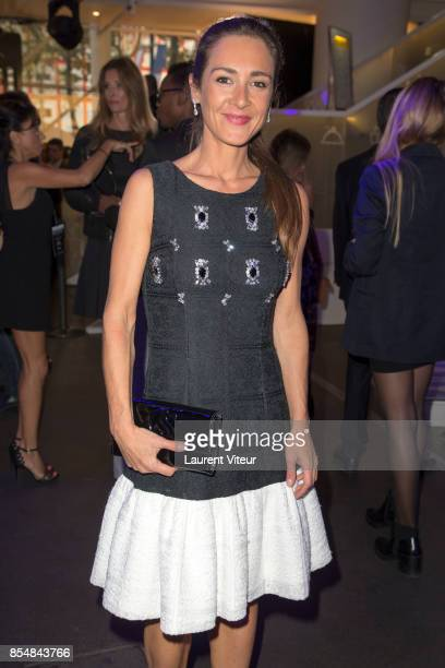 Emmanuelle Boidron attends the Christophe Guillarme show as part of the Paris Fashion Week Womenswear Spring/Summer 2018 on September 27 2017 in...