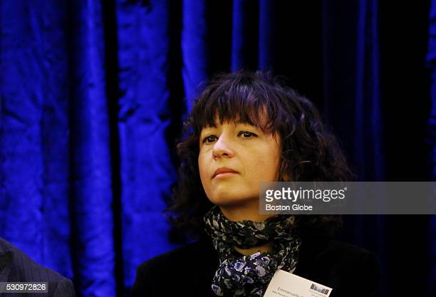 Emmanuelle Charpentier Professor Max Planck Institution for Infection Biology MIMS Ume�� University takes part in a panel discussion during the...