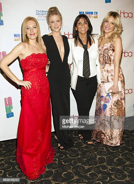 Emmanuelle Choussy Jessy Schram Lea Journo and Eden XO attend 1st Hollywood Beauty Awards Presented By LATF And Benefiting Children's Hospital Los...