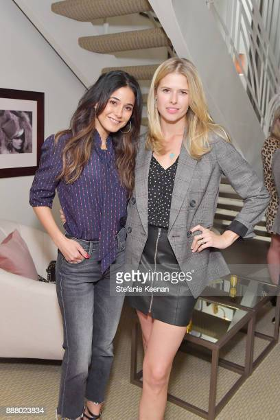 Emmanuelle Chriqui and Alice Eve attend Giltcom Jennifer Meyer Jenna Dewan Tatum Launch Exclusive Jewelry Collection Benefitting Baby2Baby at Sunset...