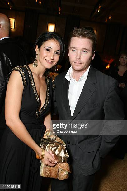 Emmanuelle Chriqui and Kevin Connolly during MGM Pictures Columbia Pictures and Revolution Studios present the World Premiere of 'Rocky Balboa' at...