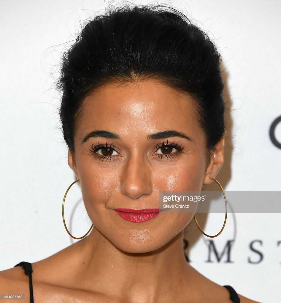 Emmanuelle Chriqui arrives at the Variety's Power Of Women: Los Angeles at the Beverly Wilshire Four Seasons Hotel on October 13, 2017 in Beverly Hills, California.