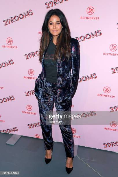 Emmanuelle Chriqui attends Refinery29 29Rooms Los Angeles Turn It Into Art Opening Night Party at ROW DTLA on December 6 2017 in Los Angeles...