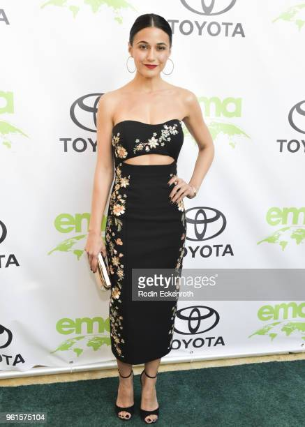 Emmanuelle Chriqui attends the 28th Annual EMA Awards Ceremony at Montage Beverly Hills on May 22 2018 in Beverly Hills California