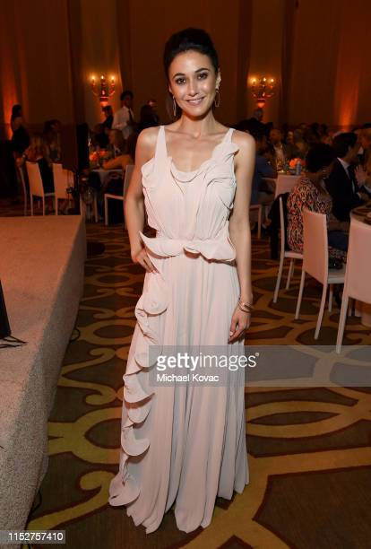 Emmanuelle Chriqui attends The 29th Annual Environmental Media Awards at Montage Beverly Hills on May 30 2019 in Beverly Hills California