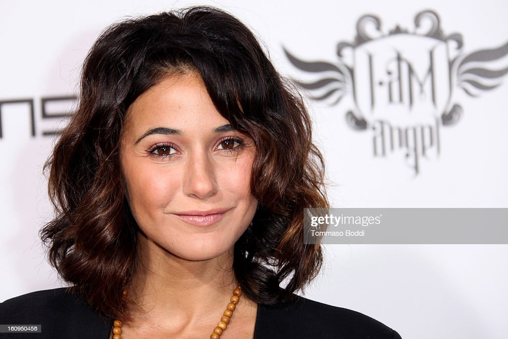 Emmanuelle Chriqui attends the 2nd Annual Will.i.am TRANS4M Boyle Heights benefit concert held at Avalon on February 7, 2013 in Hollywood, California.