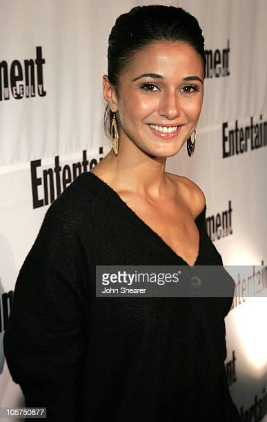 Emmanuelle Chriqui during 2005 Toronto Film Festival Entertainment Weekly/Endeavor Party at Lobby in Toronto Canada