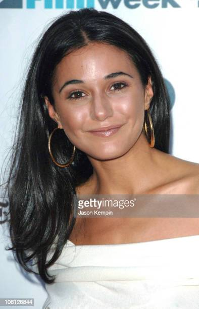 Emmanuelle Chriqui during 'A Guide to Recognizing Your Saints' New York City Premiere Arrivals at Chelsea West Cinemas in New York City New York...