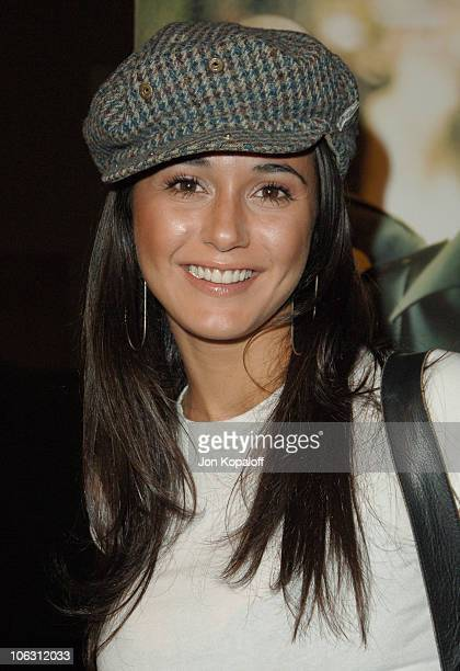 Emmanuelle Chriqui during Dirty Los Angeles Premiere Arrivals at Writers Guild Of America in Beverly Hills California United States