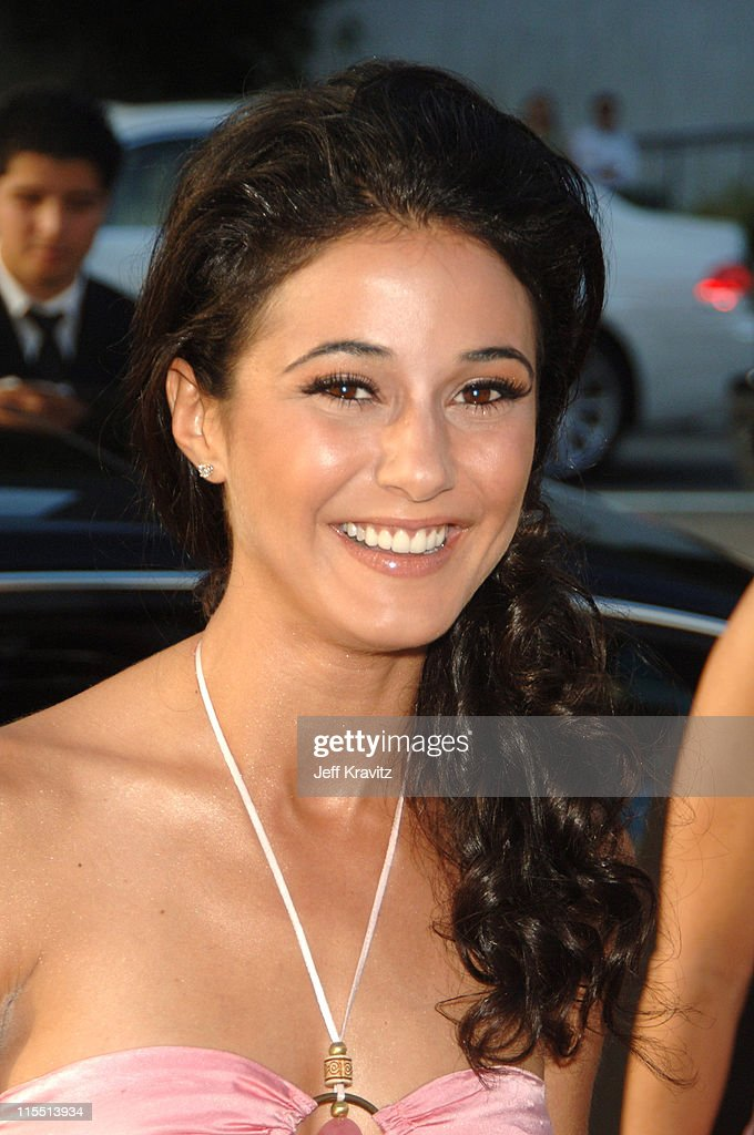 Emmanuelle Chriqui during 'Entourage' 2006 Season Premiere - Red Carpet at Cinerama Dome in Hollywood, California, United States.