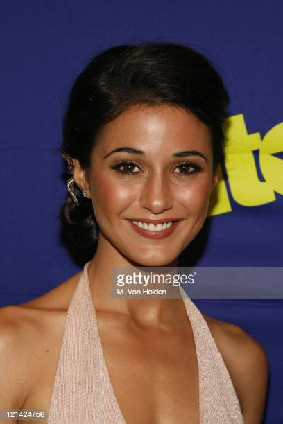 Emmanuelle Chriqui during HBO's Entourage screening at Skirball Center in New York, Ny, United States.