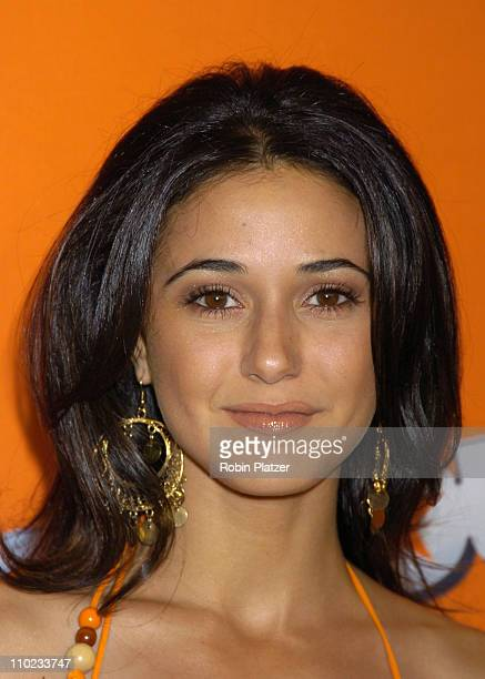 Emmanuelle Chriqui during HBO's Entourage Season 2 New York City Premiere Outside Arrivals at The Tent at Lincoln Center Damrosch Park in New York...