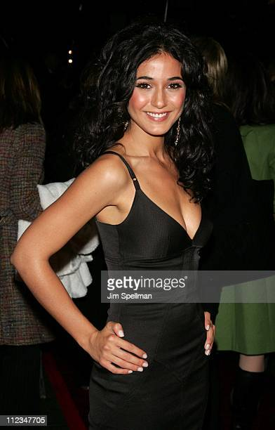 Emmanuelle Chriqui during In The Mix New York City Premiere Arrivals at Chelsea Wesy Cinema in New York City New York United States