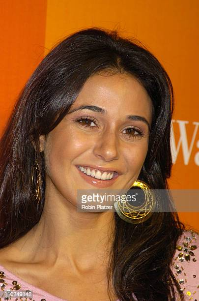 Emmanuelle Chriqui during InStyle Magazine Clothes We Love Fashion Spectacular Fashion Show Arrivals at The Time Warner Center in New York City New...