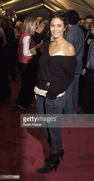 Emmanuelle Chriqui during Paramount Pictures' 'Elizabethtown' New York City Premiere at Loews Lincoln Square in New York City New York United States