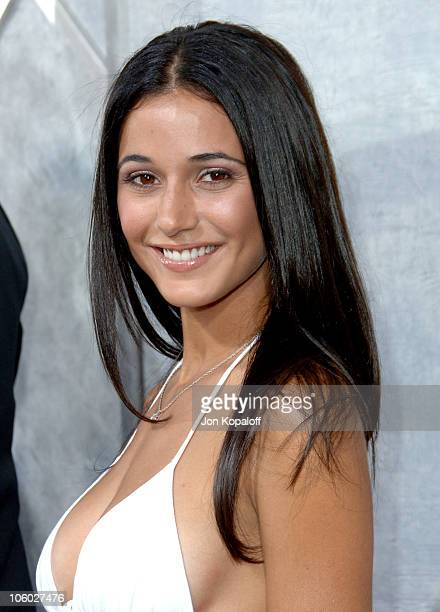 Emmanuelle Chriqui during Step Up Los Angeles Premiere Arrivals at ArcLight Theater in Hollywood California United States