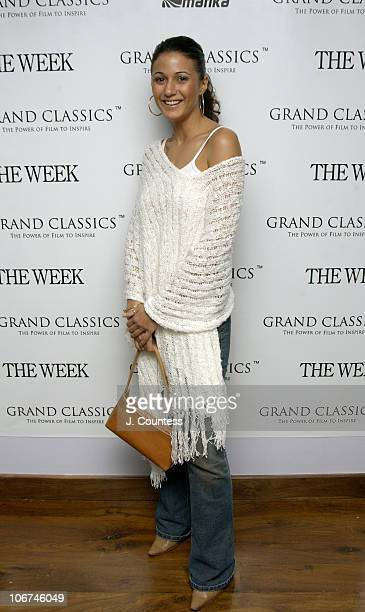 Emmanuelle Chriqui during The Week Presents the Grand Classics Screening of Camille Hosted by Natalie Portman at Soho House Club in New York City New...