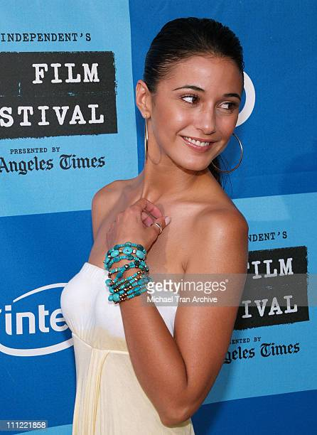 Emmanuelle Chriqui during World Premiere of Ira Abby Arrivals at Mann Festival Theatre in Westwood CA United States