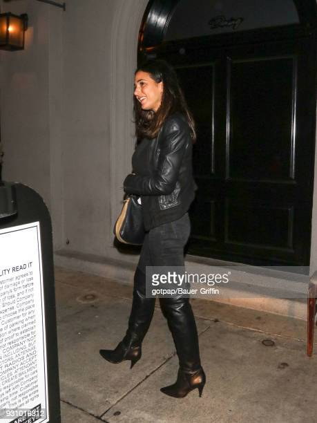 Emmanuelle Chriqui is seen on March 11 2018 in Los Angeles California