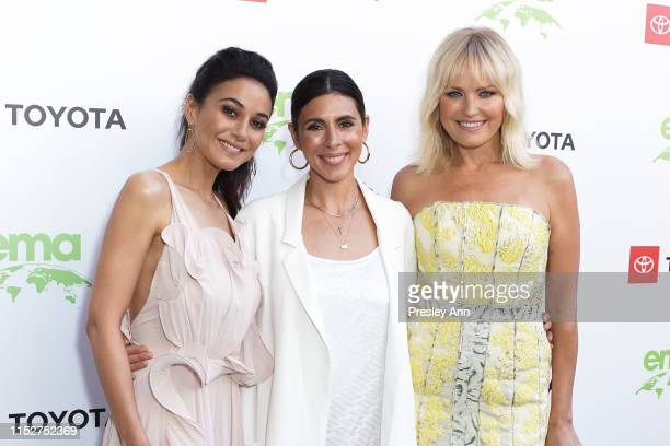 Emmanuelle Chriqui JamieLynn Sigler and Malin Akerman attend 29th Annual Environmental Media Awards at The Montage Beverly Hills on May 30 2019 in...