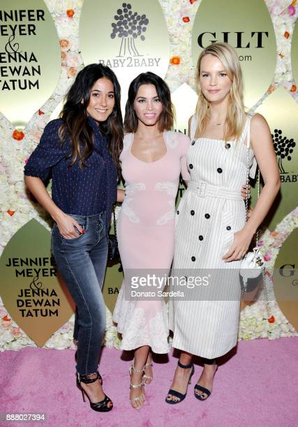 Emmanuelle Chriqui Jenna Dewan Tatum and Kelly Sawyer Patricof at Giltcom Jennifer Meyer Jenna Dewan Tatum's Exclusive Jewelry Collection Launch...
