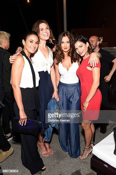 Emmanuelle Chriqui Mandy Moore Minka Kelly and Jenna Dewan Tatum attend The A List 15th Anniversary Party on September 1 2015 in Beverly Hills...