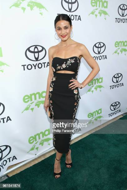 Emmanuelle Chriquii attends the 28th Annual Environmental Media Awards at Montage Beverly Hills on May 22 2018 in Beverly Hills California