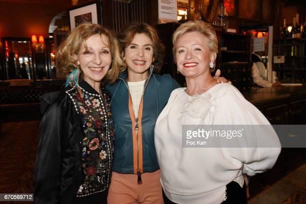 Emmanuelle de Boysson Anne Nivat and Colette Siljegovic attend 'La Closerie Des Lilas' Literary Awards 2016 At La Closerie Des Lilas on April 19 2017...