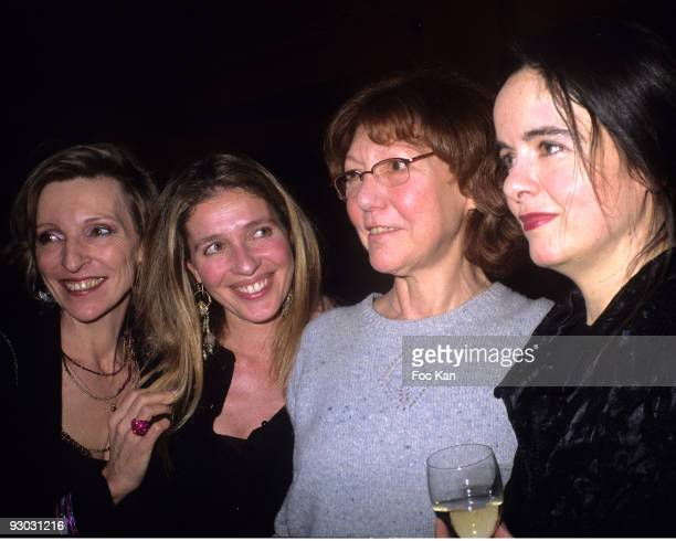 Emmanuelle de Boysson Carole Chretiennot Anne Wiazemsky and Amelie Nothomb
