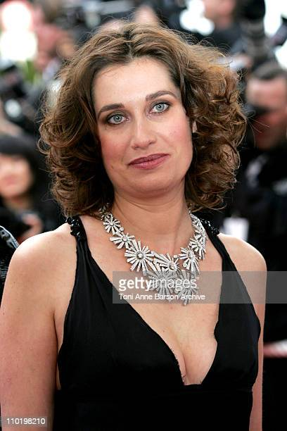 Emmanuelle Devos during 2004 Cannes Film Festival 'The Bad Education' Opening Night at Palais Du Festival in Cannes France