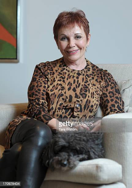 Emmanuelle Gattuso poses in her Toronto home Monday January 21 2013 Earlier Monday Guttuso announced a $50 million gift to Princess Margaret Hospital...