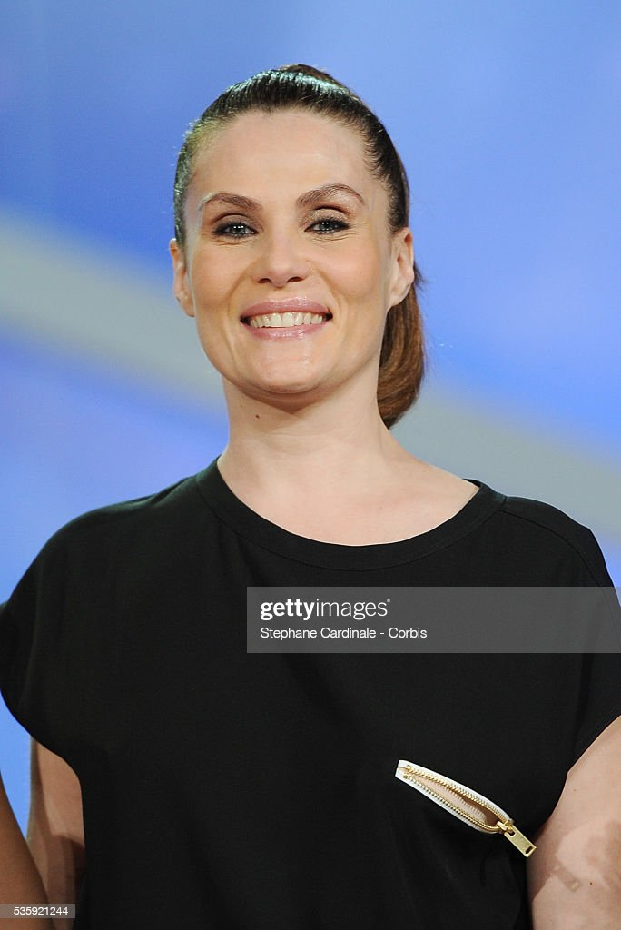 Emmanuelle Seigner attends the Short Films Award Ceremony, during the10th Marrakech Film Festival, in Marrakech.